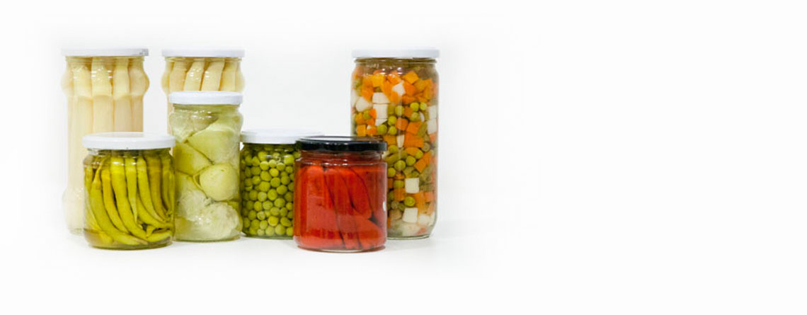Export of Tined / Glass Canned Vegetables